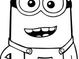 Minion Ha Ha Coloring Page