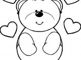 More Bear Coloring Page