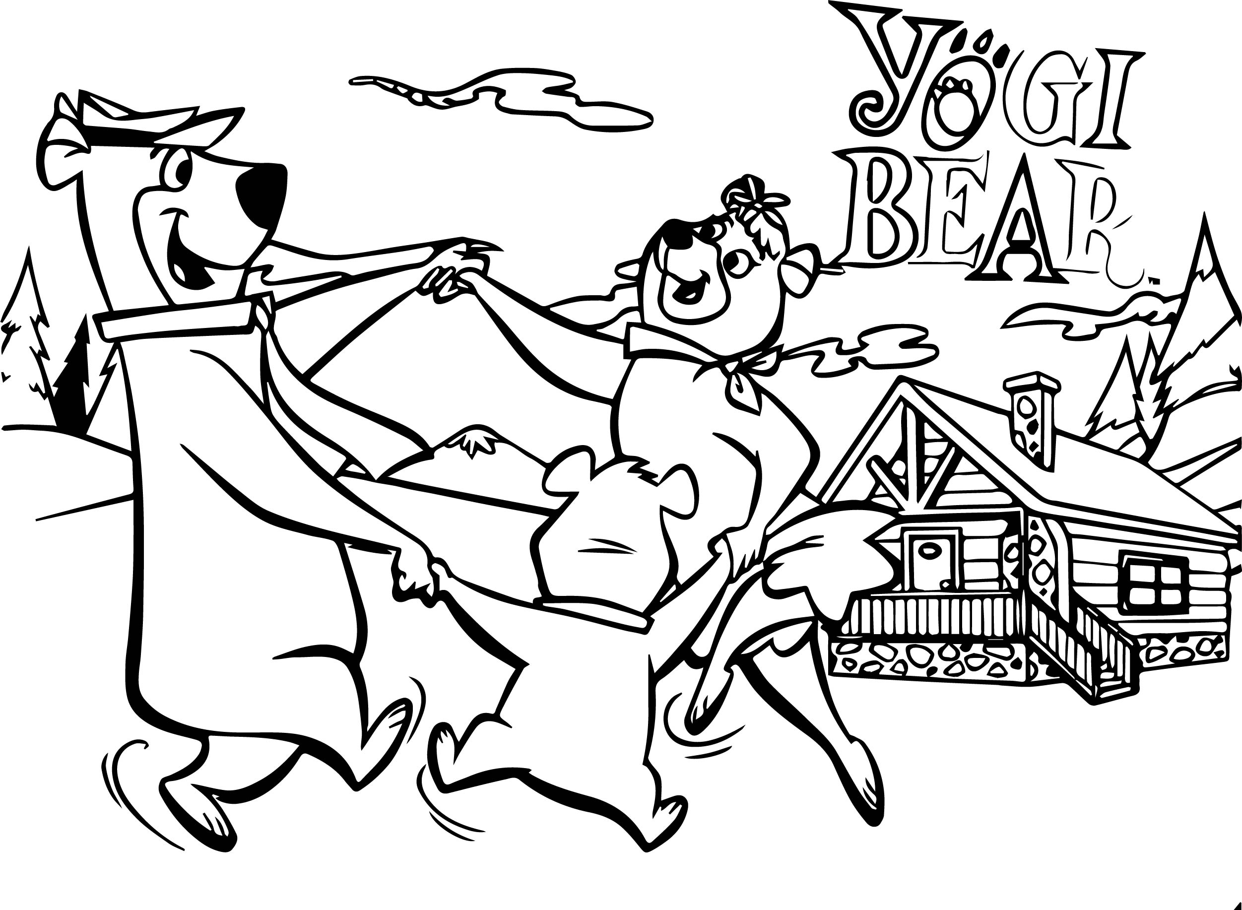 bear family coloring pages - most bear family coloring page