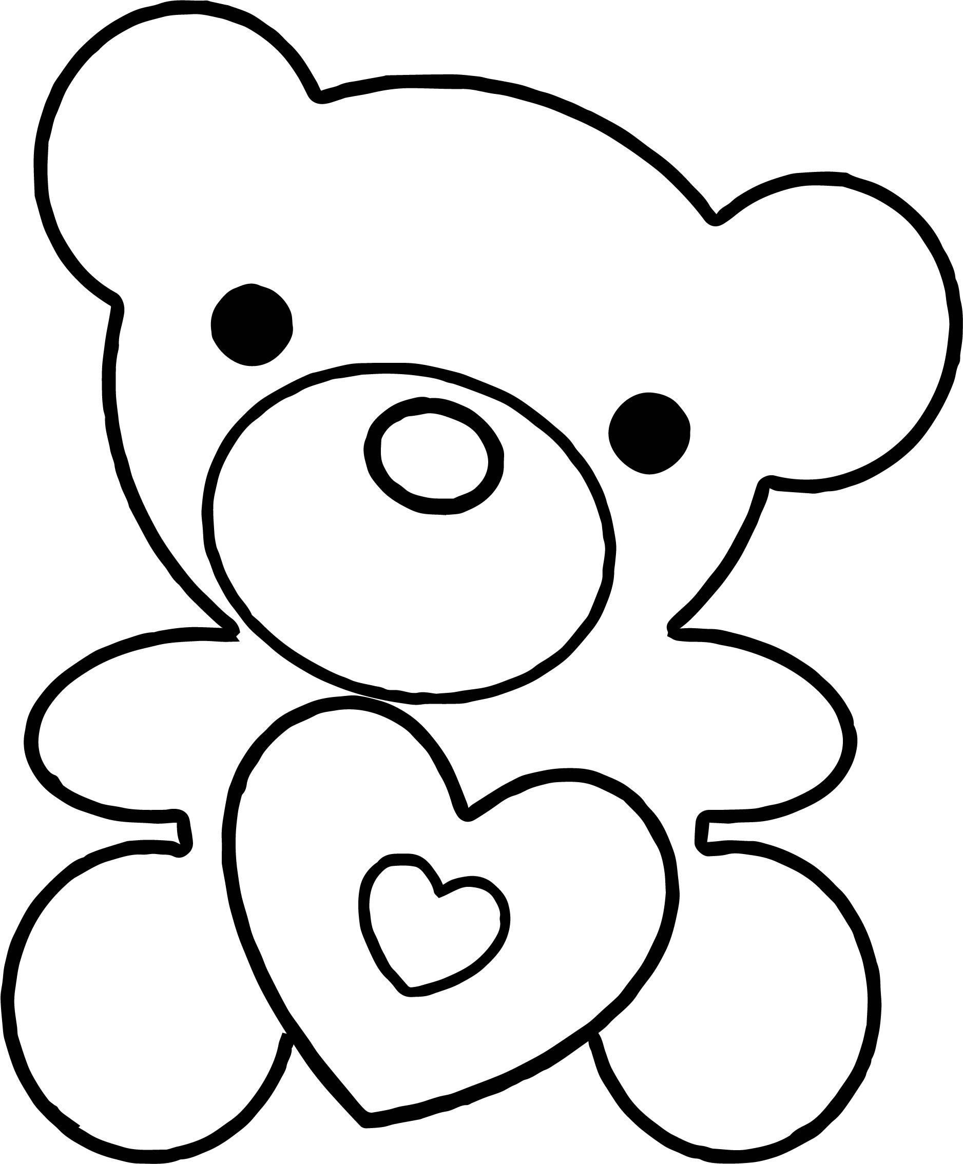 Must Bear Coloring Page