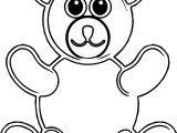 No Bear Coloring Page