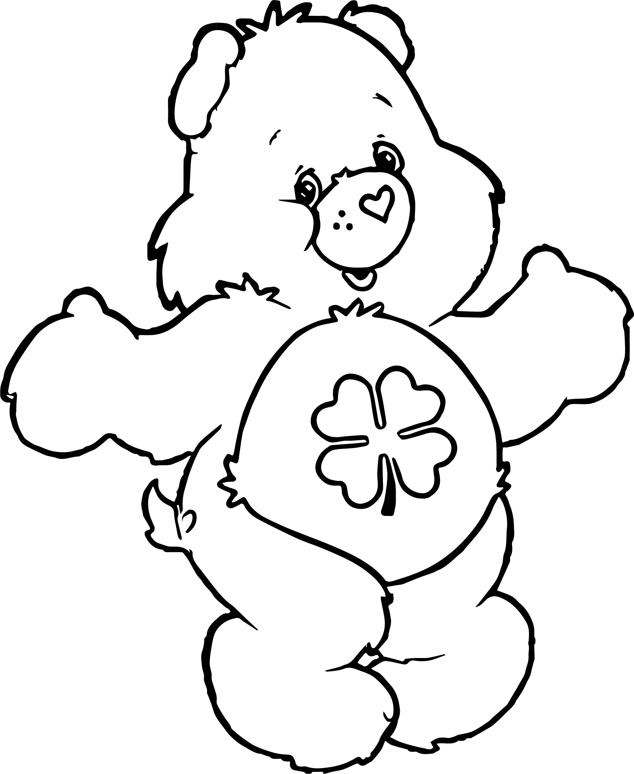 Old Bear Coloring Page