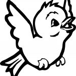 On Bird Coloring Page