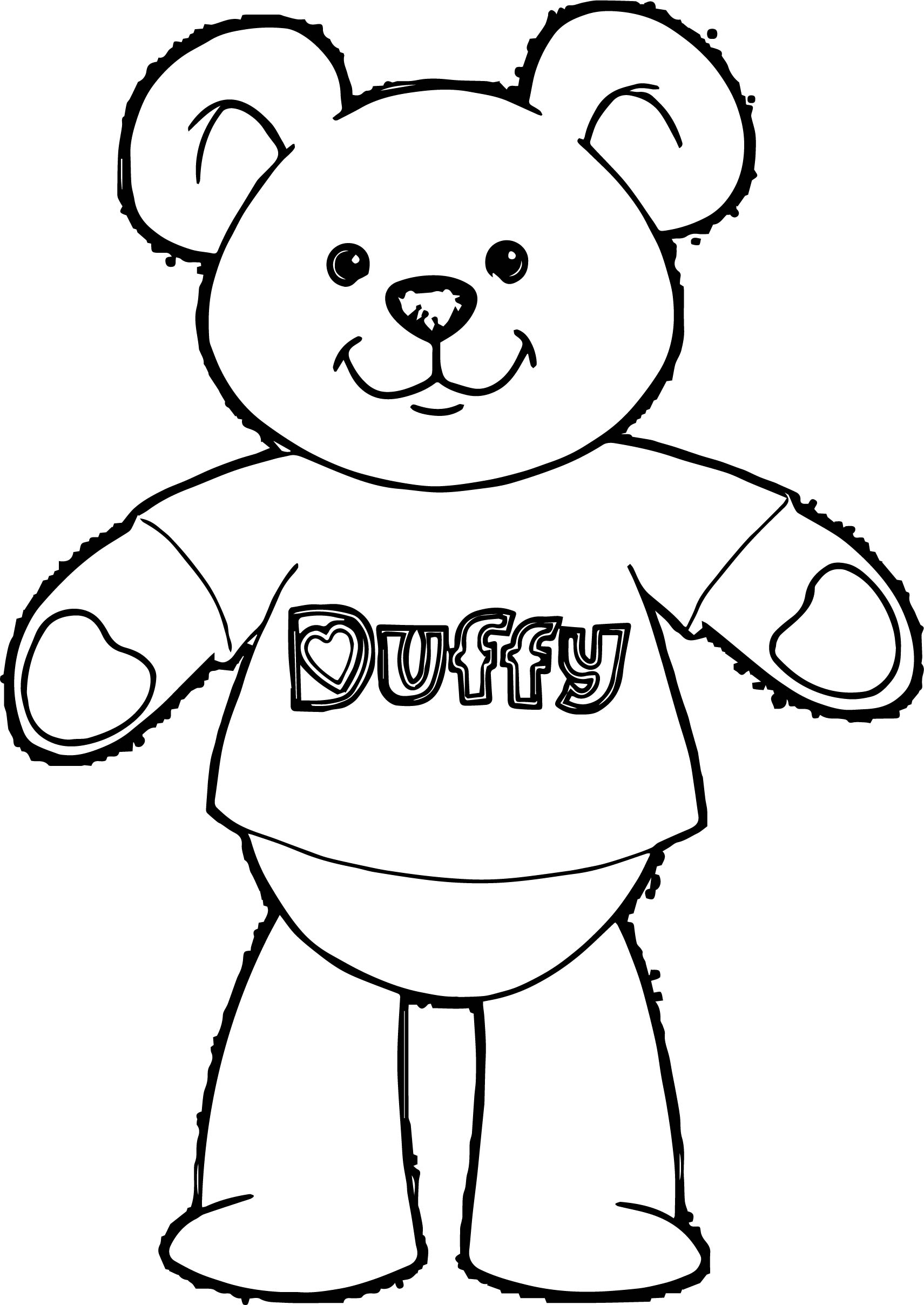 Other Bear Coloring Page