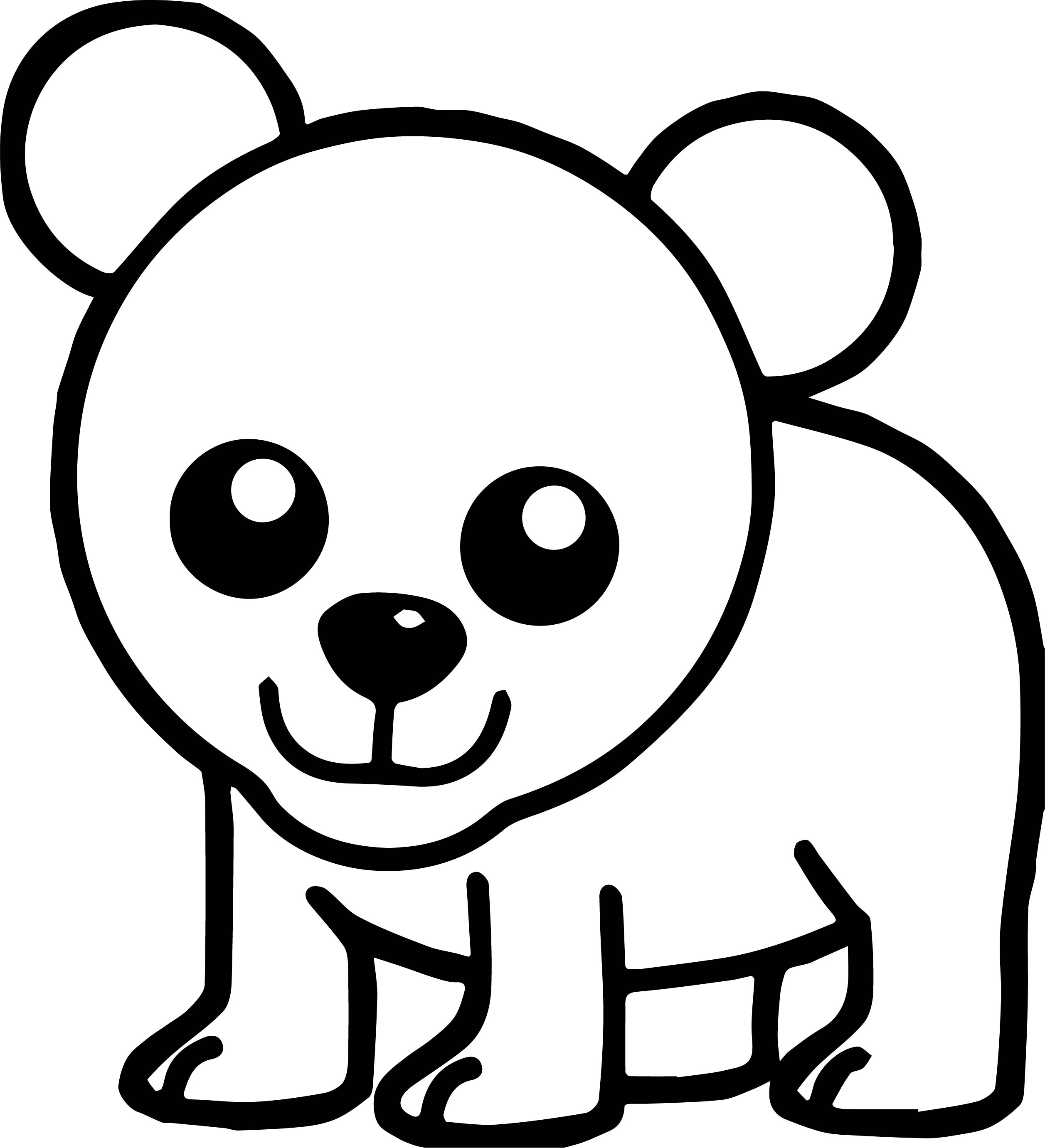 Out Bear Coloring Page