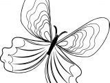Paint Butterfly Coloring Page