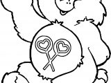 Picture Bear Coloring Page