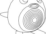Poliwag Coloring Page