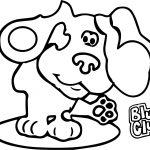 Property Header Blues Clues Desktop Coloring Page