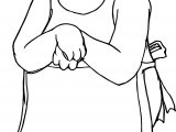 Put Bear Coloring Page
