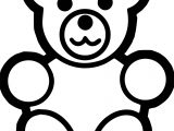 Read Bear Coloring Page