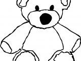Right Bear Coloring Page