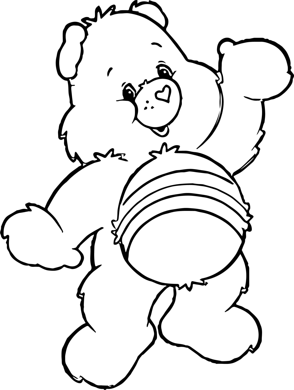 Same Bear Coloring Page