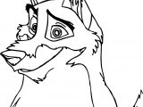 Smile Balto Coloring Page