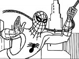 Spider Man City Coloring Pages