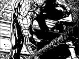 Spider Man Picture Coloring Page