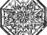 Stained Glass Coloring Page