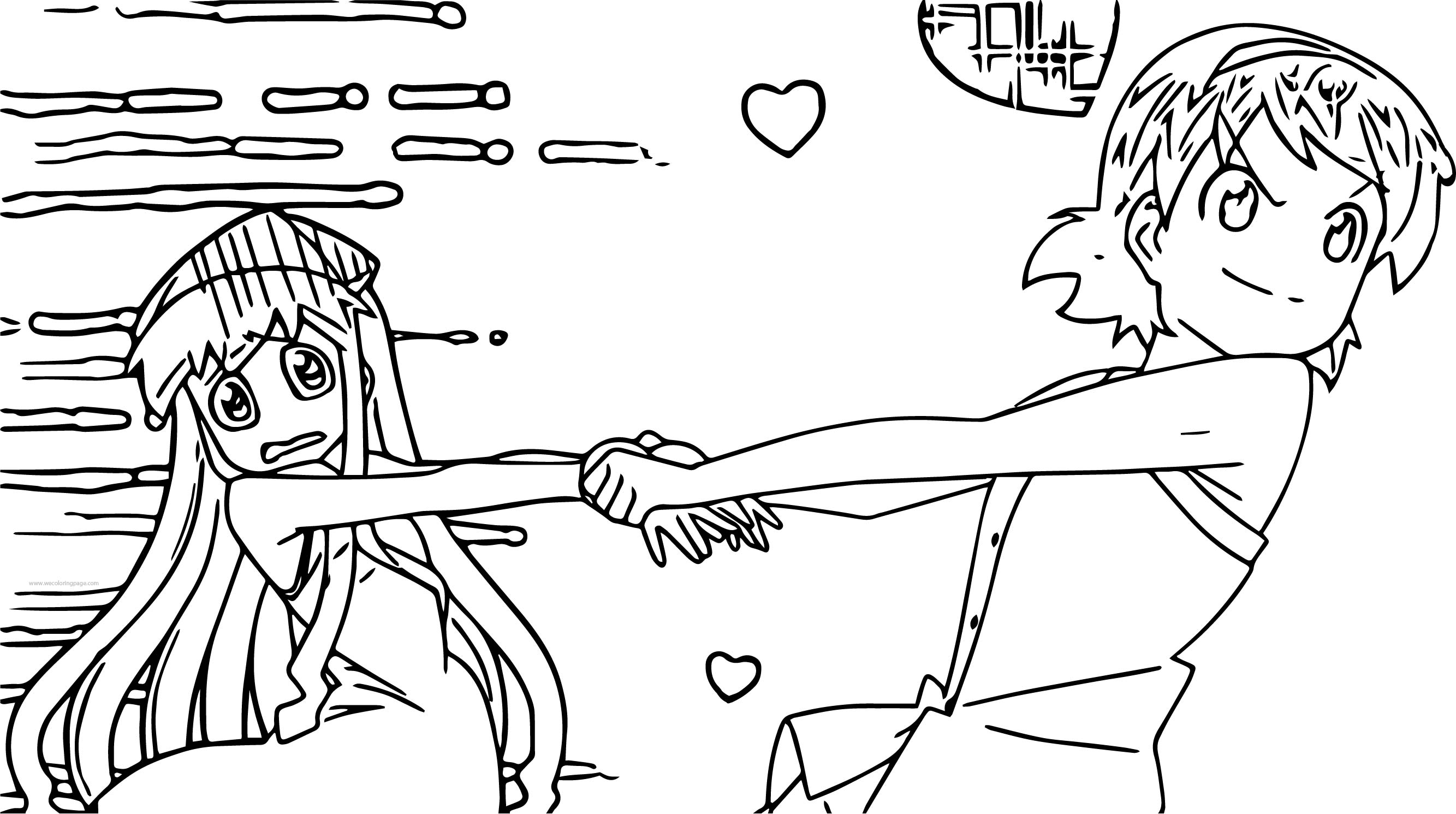Stella Image Squid Girl Coloring Page