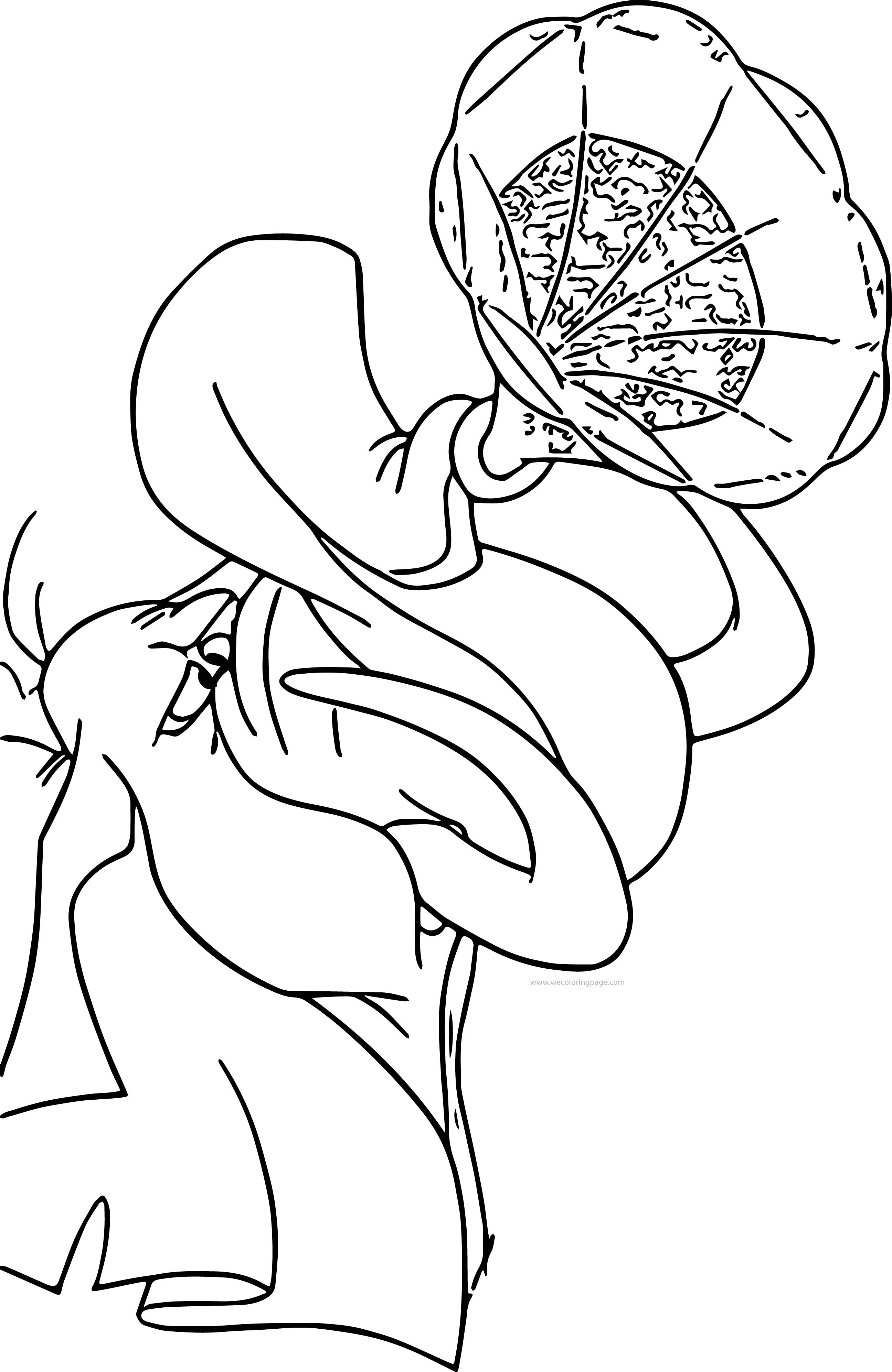 Tantor Music Coloring Page