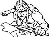 Tarzan Blade Coloring Page