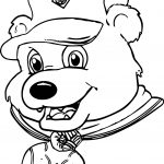 This Bear Coloring Page