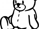 Time Bear Coloring Page