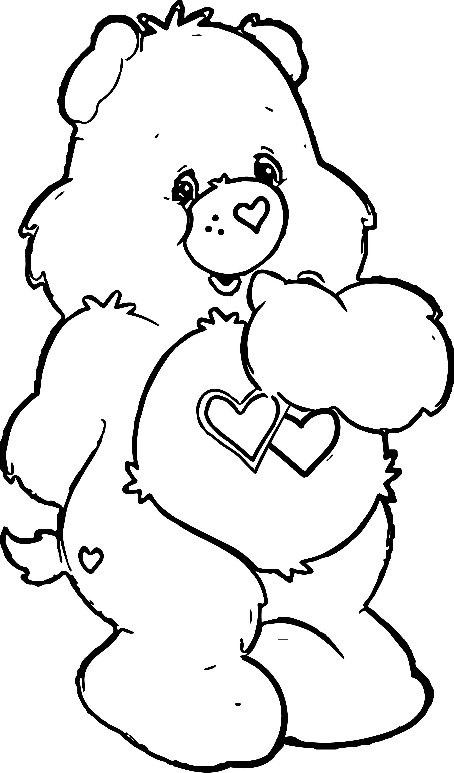 To Bear Coloring Page