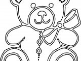 Try Bear Coloring Page