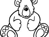 Two Bear Coloring Page