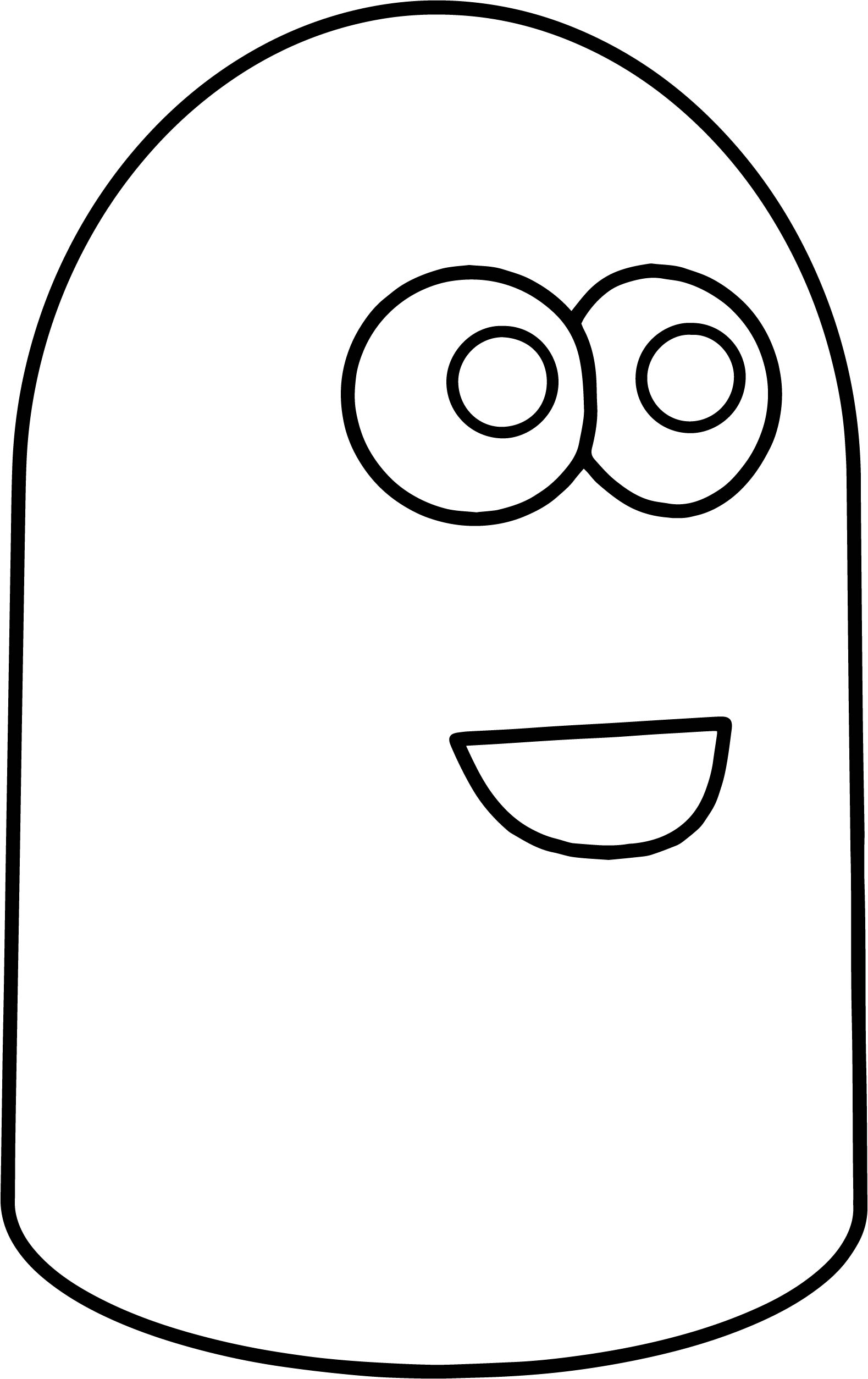 Two Bloo Coloring Page