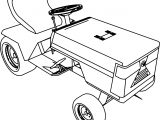 Up Graded Briggs And Stratton Craftsman Lawnmower Coloring Page