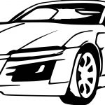 Air Car Coloring Page