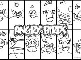 Angry Birds Card Cartoon Coloring Page