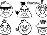 Angry Birds Pack Coloring Page