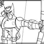 Archer Avengers Arrow Coloring Page
