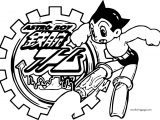Astroboy Logo Iron On Transfers Coloring Page