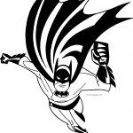 Batman Fast Coloring Page