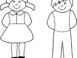 Be Boy Coloring Page