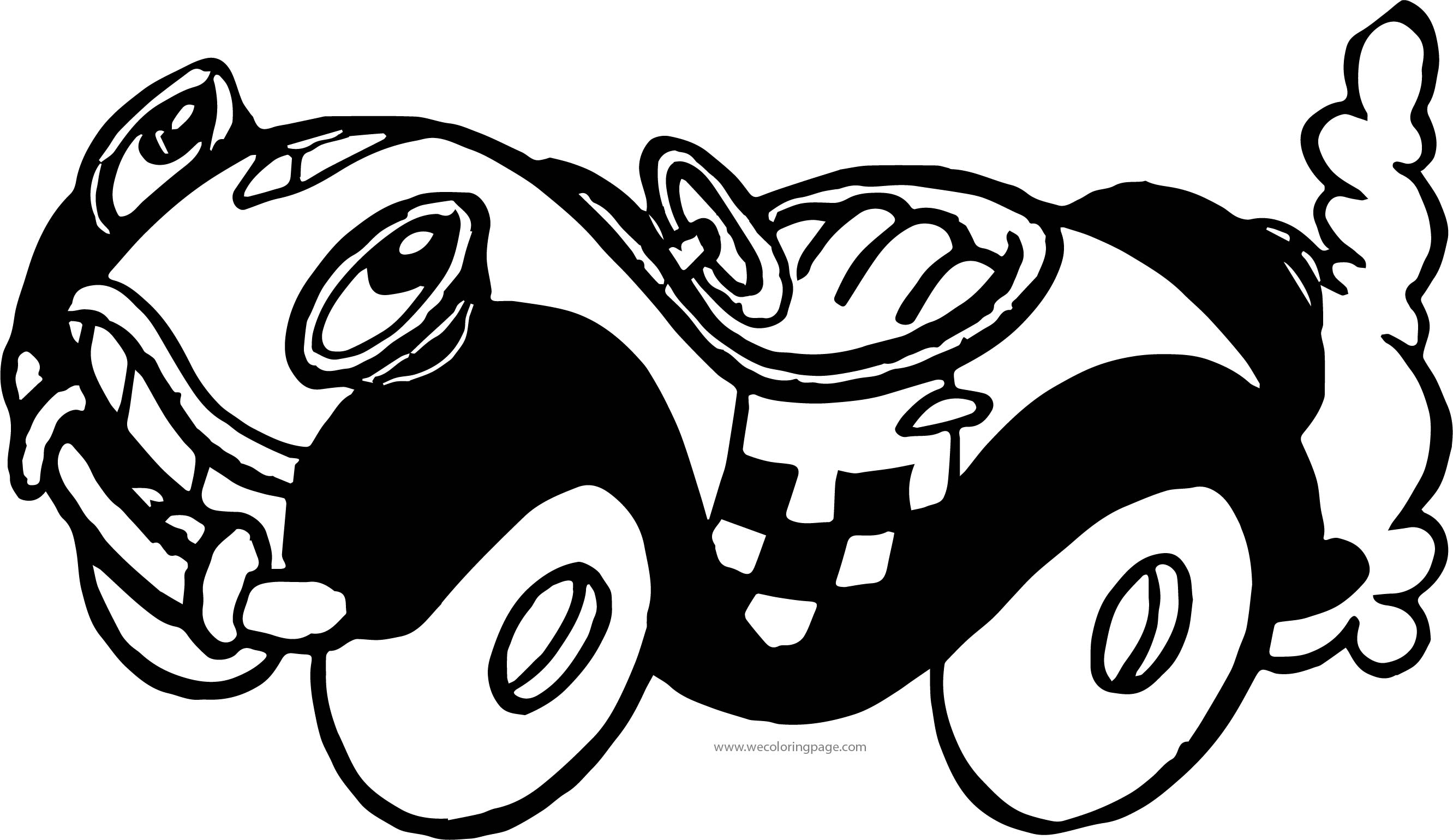 Beny Car Coloring Pages