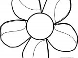 Best Flower Coloring Page