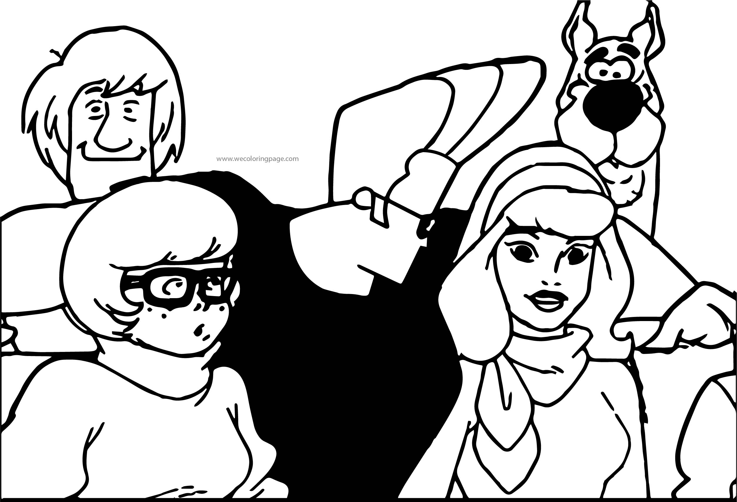 Best Scooby Doo Episode Johanny Bravo Coloring Page