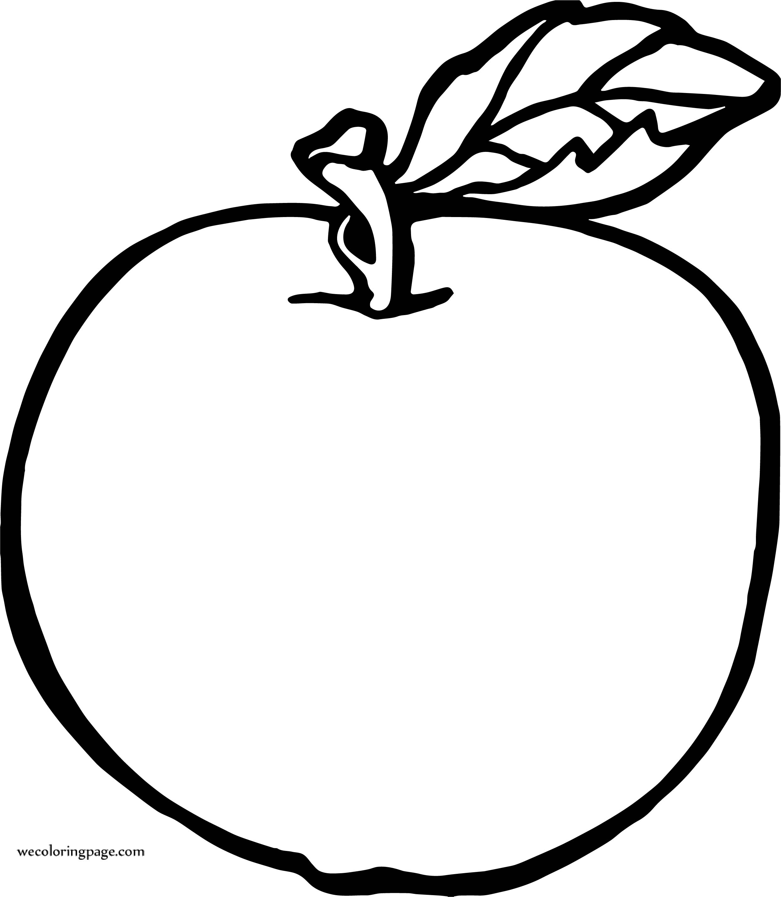 Big Apple Coloring Page Wecoloringpage
