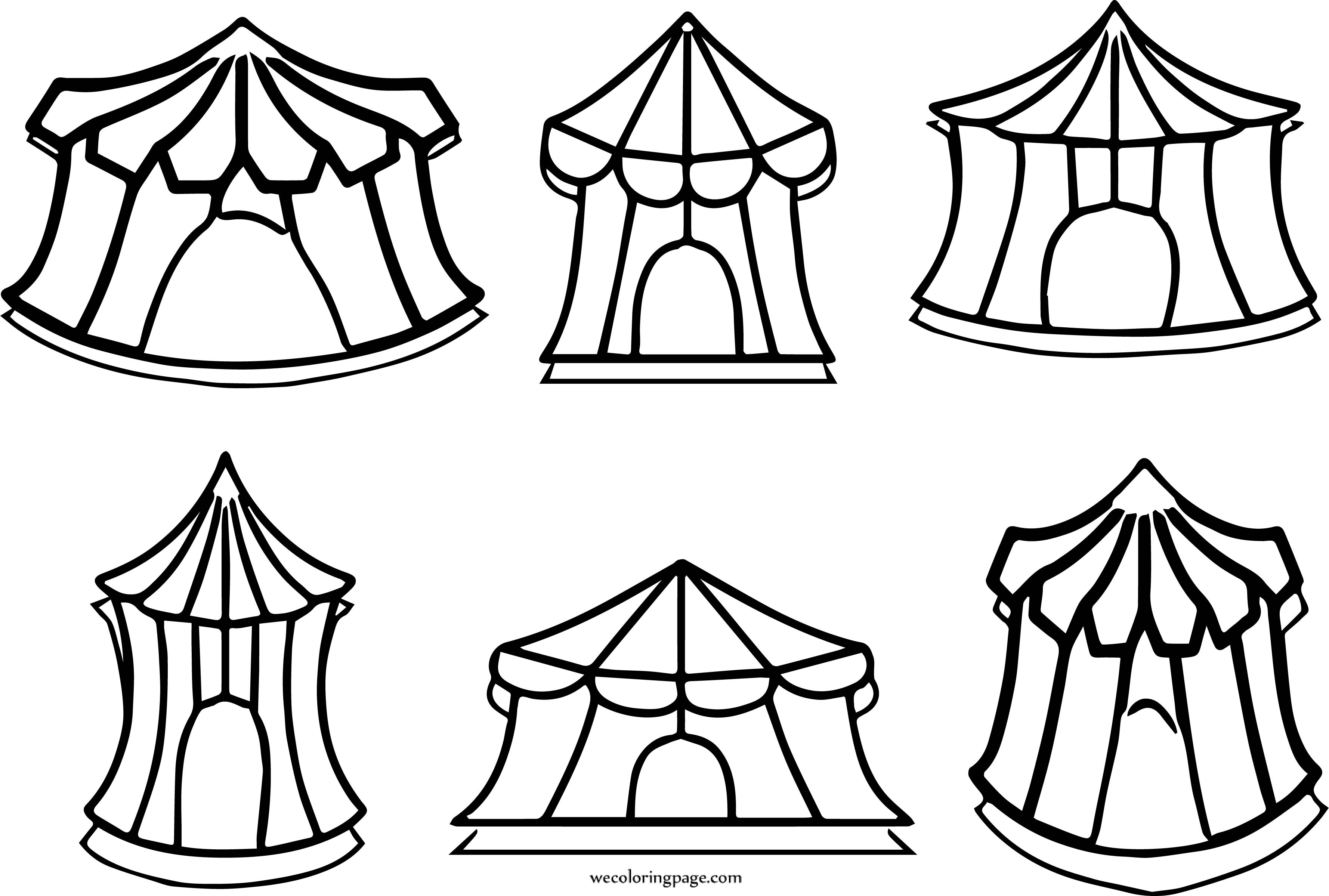 circus tent coloring pages best coloring pages