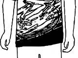 Boy Shirt Coloring Page