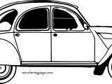 But Car Beetle Coloring Page