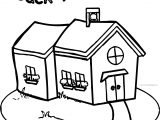 By School Bag Coloring Page