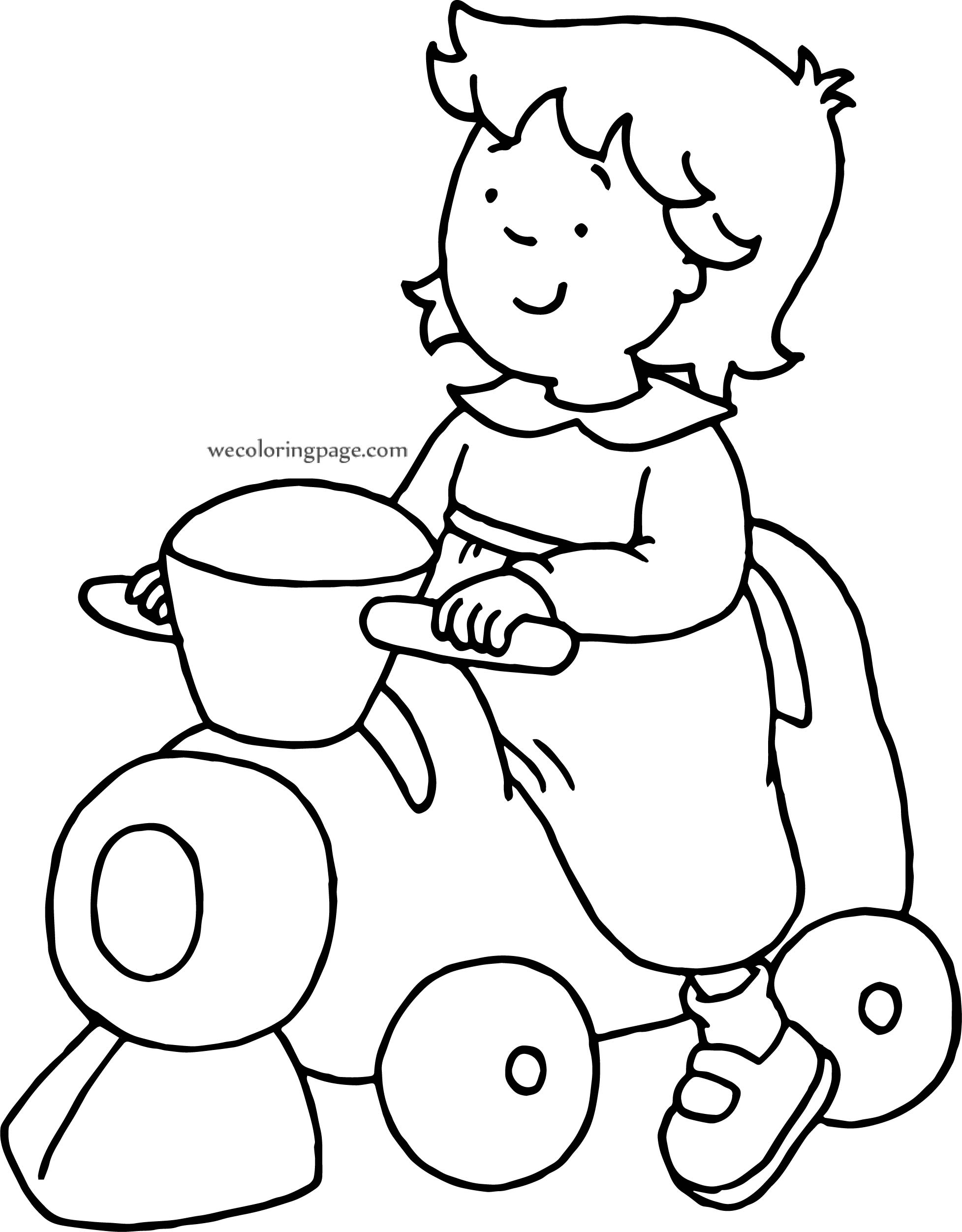 Caillou Family Coloring Pages best colouring pages for kids