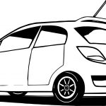 Can Car Coloring Page