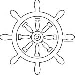 Captain Rudder Coloring Page