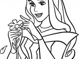 Disney Princess Sleeping Beauty At Disney Daisy Coloring Pages